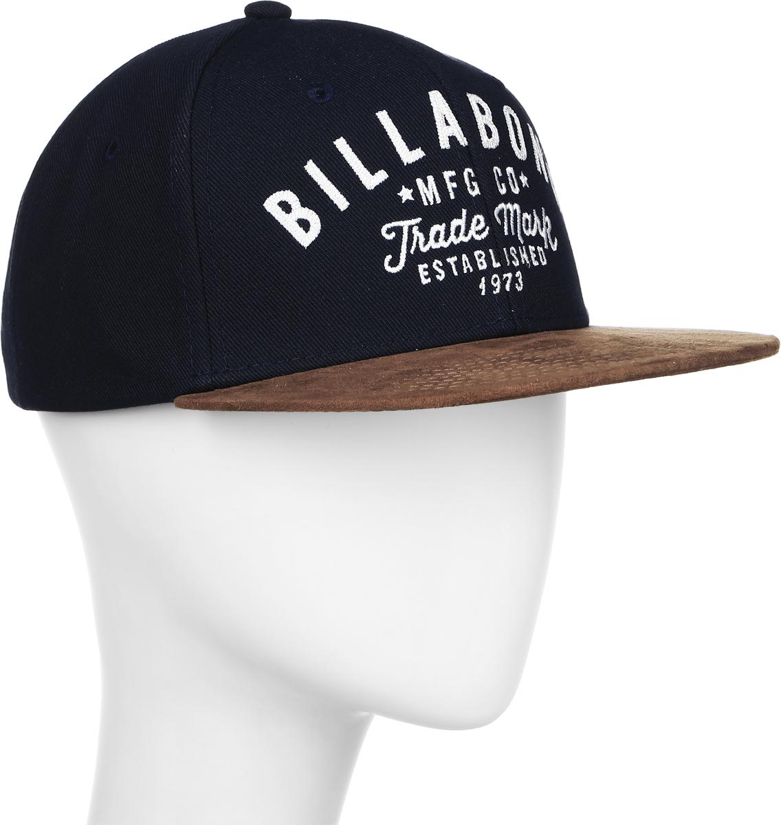 Бейсболка для мальчиков Billabong Sama Snapback Boy, цвет: синий, коричневый. 3607869386435. Размер универсальный