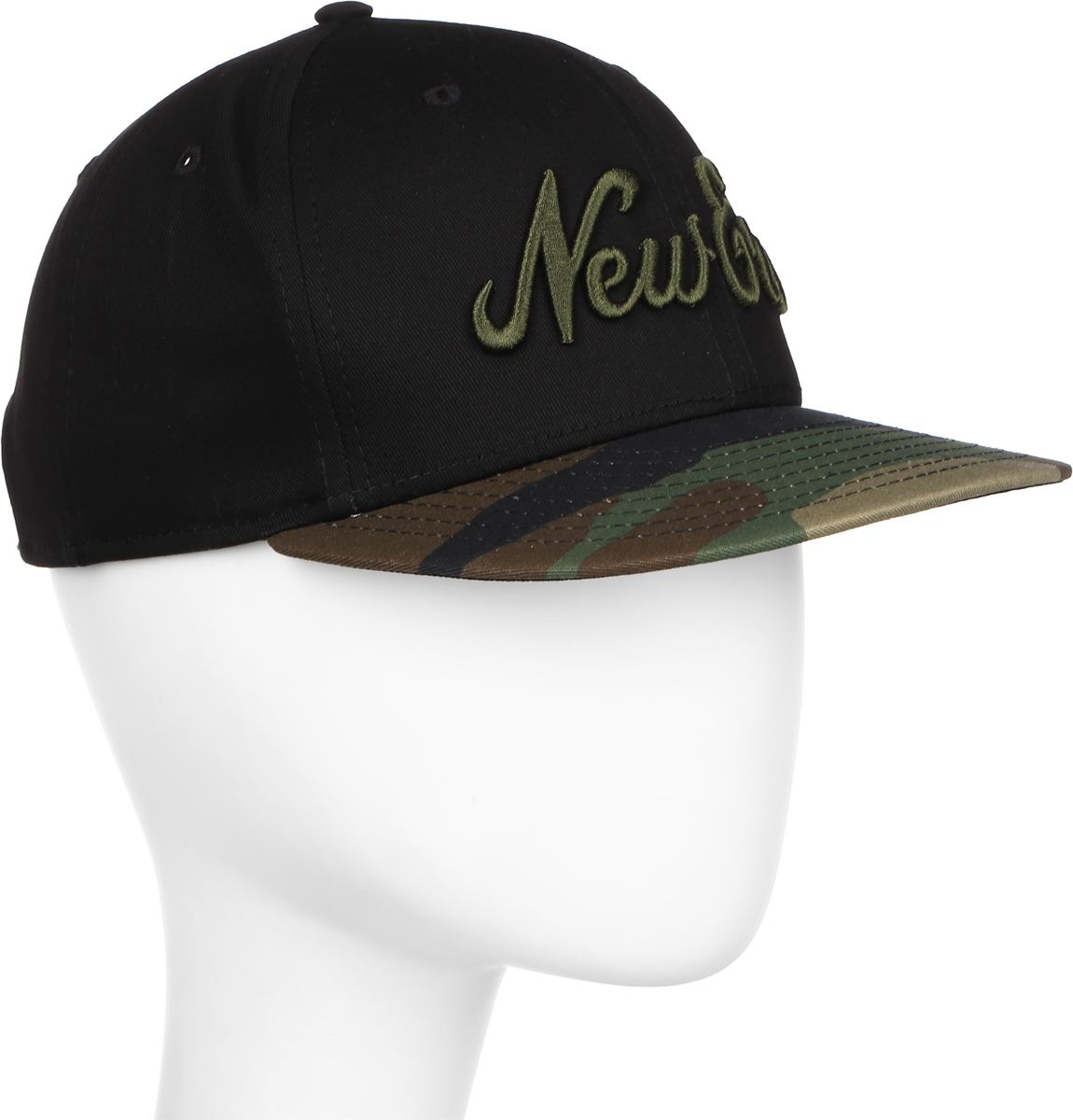 Бейсболка New Era Camo 9fifty, цвет: черный, камуфляж. 11379753-BLK. Размер S/M (54/57) new era бейсболка new era 615 character 9fifty