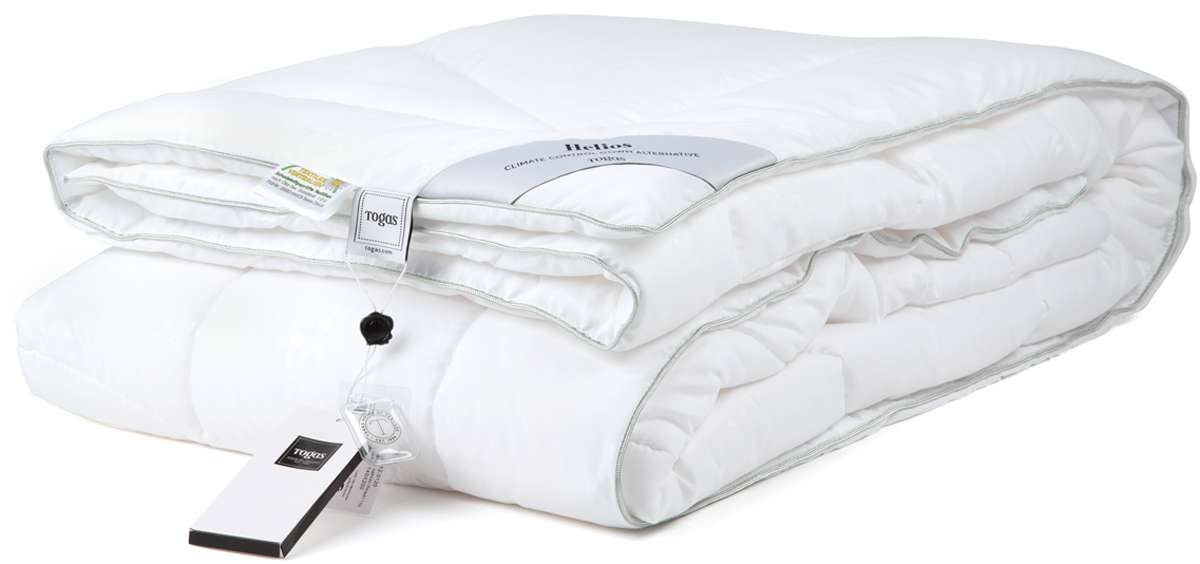 Одеяло Togas Гелиос, наполнитель: микрофибра, цвет: белый, 140 х 200 см одеяла togas одеяло гелиос 220х240 см