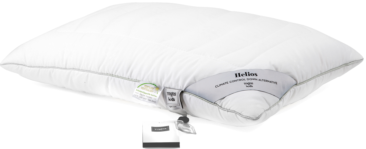 Подушка детская Togas  Гелиос , наполнитель: микрофибра, цвет: белый, 40 х 60 см - Детский текстиль