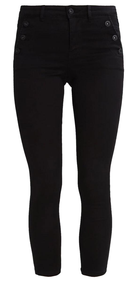 Джинсы женские Only, цвет: черный. 15135240_Black. Размер XL-32 (50/52-32)15135240_BlackСтильные женские джинсы Only - это джинсы высокого качества, которые прекрасно сидят. Они обеспечивают комфорт и удобство при носке. Укороченные джинсы-скинни станут отличным дополнением к вашему современному образу. Джинсы застегиваются на пуговицу в поясе и ширинку на застежке-молнии, имеются шлевки для ремня. Эти модные и в тоже время комфортные джинсы послужат отличным дополнением к вашему гардеробу.