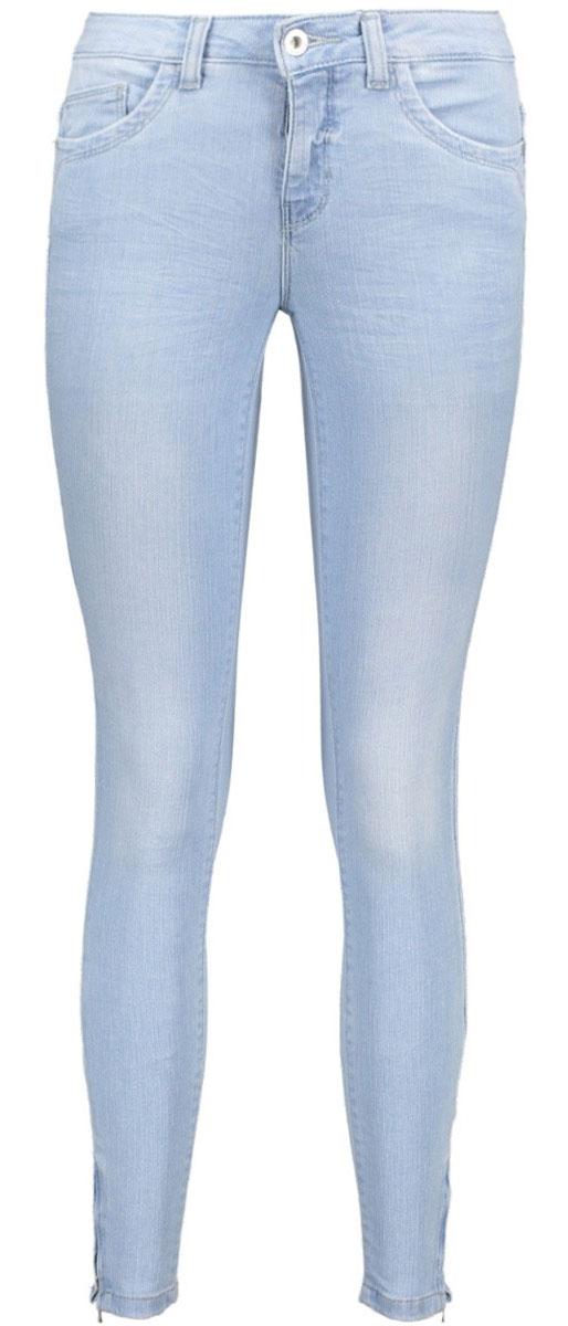 Джинсы женские Only, цвет: голубой. 15141154_Light Blue Denim. Размер 29-30 (44/46-30)15141154_Light Blue DenimЖенские джинсы Only имеют силуэт скинни и плотно облегают фигуру. Они застегиваются на пуговицу в поясе и ширинку на молнии. Модель имеет классический пятикарманный крой: два втачных кармана и небольшой накладной кармашек спереди, два больших накладных кармана сзади. Пояс дополнен шлевками для ремня. Модель имеет среднюю линию талии, внизу брючины снабжены молниями, что позволяет легко надевать и снимать джинсы.