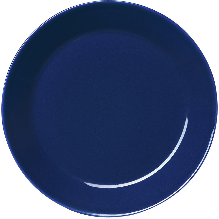 Тарелка Iittala Teema, цвет: синий, диаметр 17 см1005935Тарелка Iittala Teema выполнена из качественного жароустойчивого прочного фарфора с долговечным стекловидным эмалевым покрытием. Можно мыть в посудомоечной машине.Диаметр: 15 см.