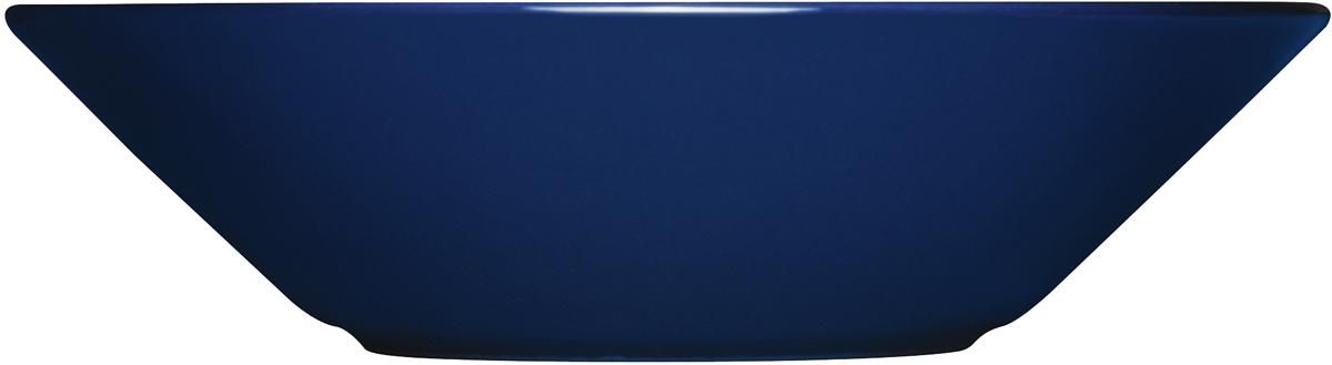 Тарелка глубокая Iittala Teema, цвет: синий, диаметр 21 см1005937Глубокая тарелка Iittala Teema выполнена из качественного жароустойчивого прочного фарфора с долговечным стекловидным эмалевымпокрытием.Можно мыть в посудомоечной машине. Диаметр: 21 см.