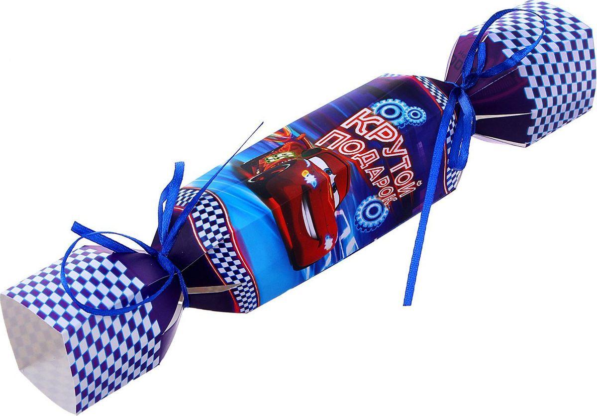 Disney Складная Коробка подарочная Крутому парню Тачки 11 х 5 см -  Подарочная упаковка