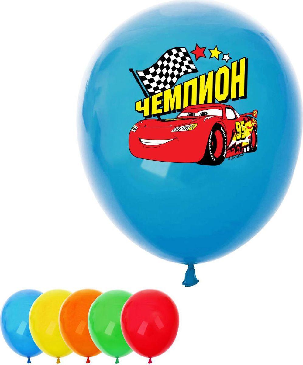 Disney Набор воздушных шаров Чемпион Тачки 5 шт disney набор воздушных шаров с днем рождения тачки 25 шт 1442456