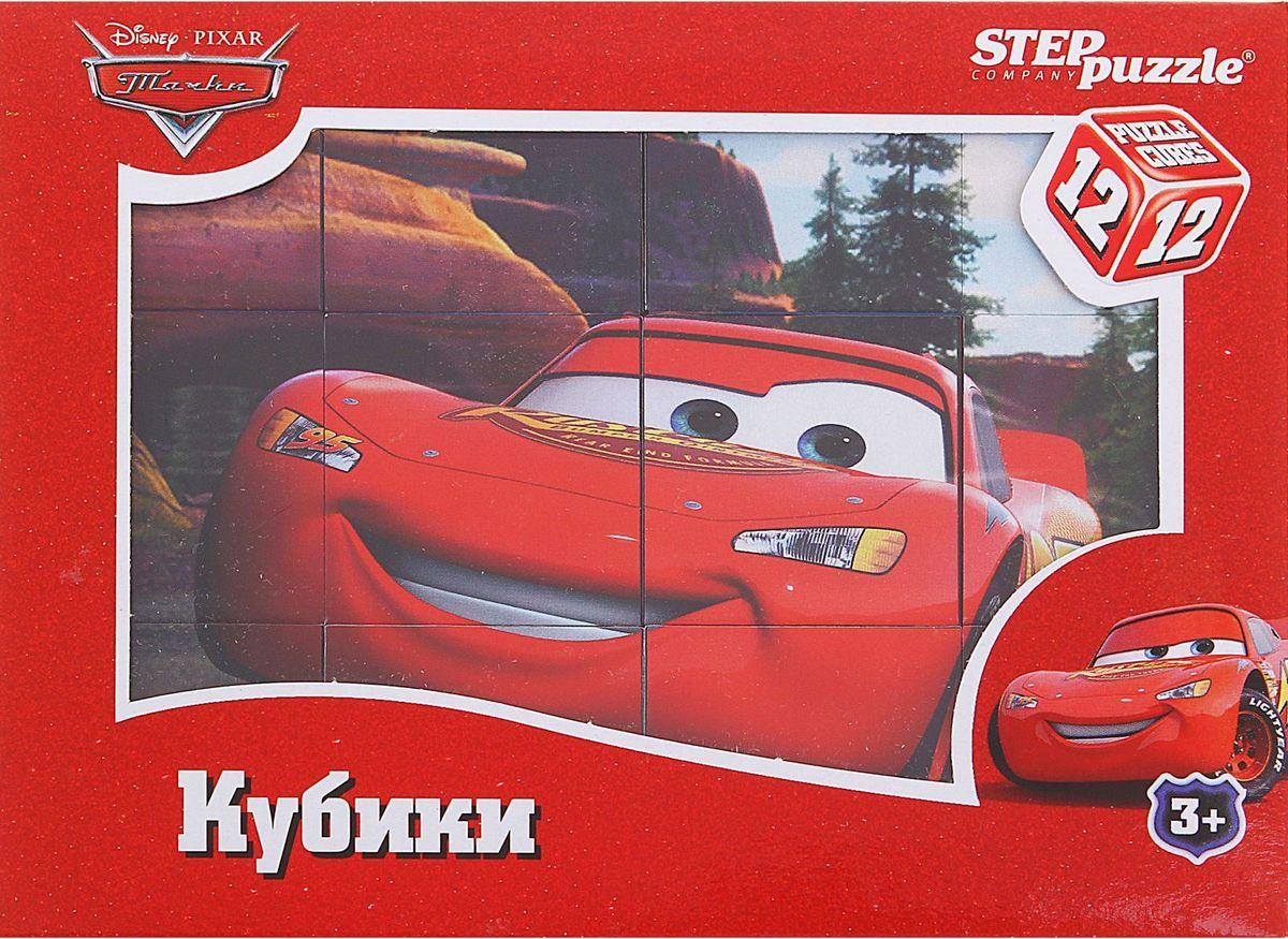 Disney Кубики Тачки 12 шт игрушки для мальчиков тачки
