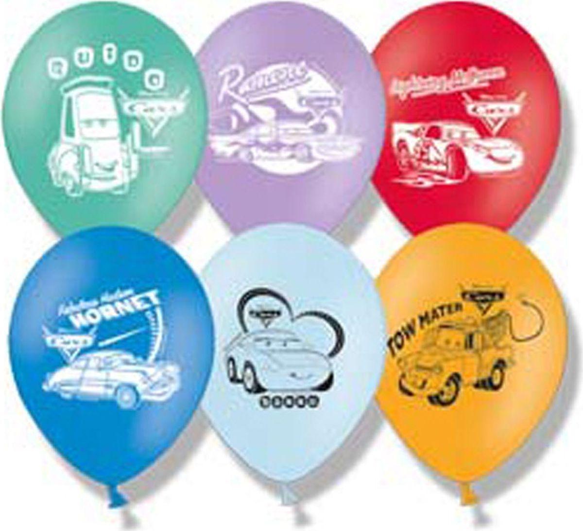 Disney Набор воздушных шаров Пастель Тачки 50 шт - Воздушные шарики