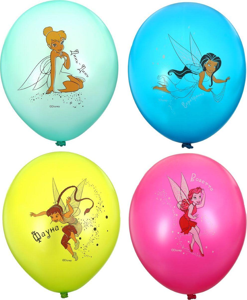 Disney Набор воздушных шаров Пастель Феи 25 шт 1306891 - Воздушные шарики