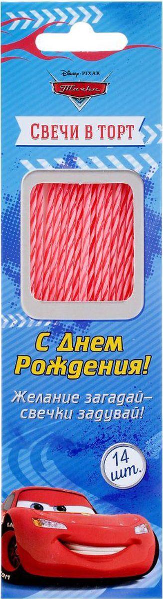 Disney Свечи для торта С днем рождения Тачки 14 шт 1422054
