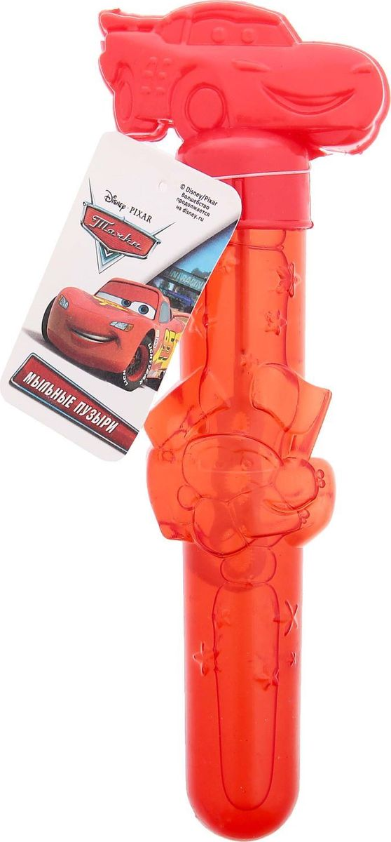 Disney Мыльные пузыри Тачки 50 мл 1440706 веселая затея мыльные пузыри тачки 60 мл