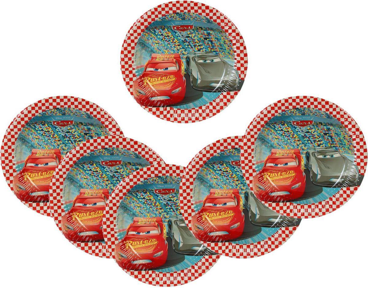 ProcosТарелка бумажная Тачки 3 диаметр 20 см 8 шт Procos
