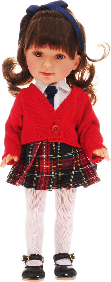 Vestida de Azul Кукла Паулина Школьница брюнетка с челкой