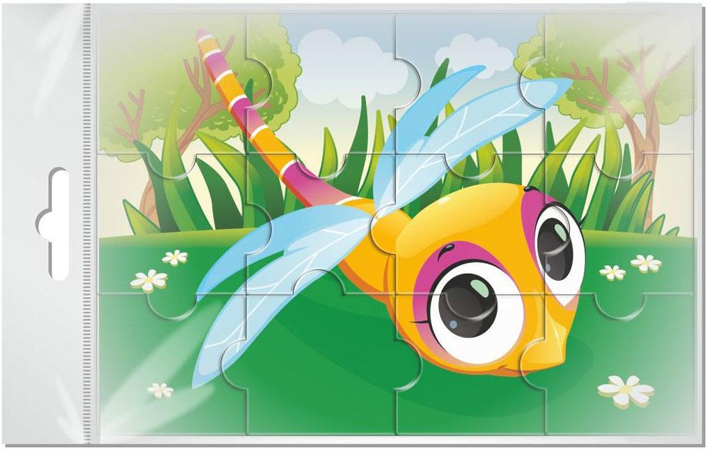 Издательская группа Квадра Пазл для малышей Стрекоза издательская группа квадра пазл для малышей осьминог