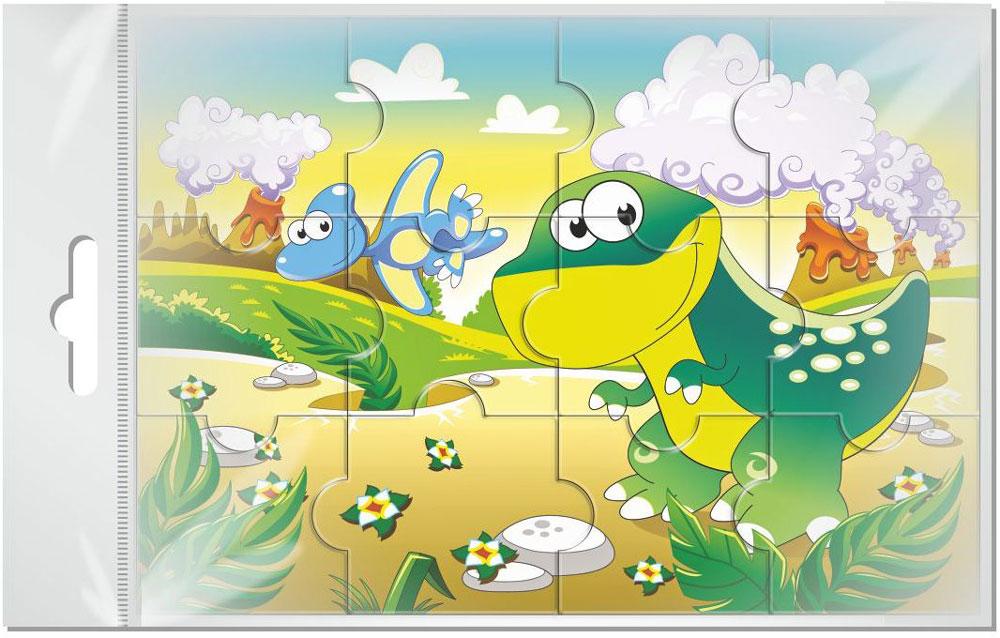 Издательская группа Квадра Пазл для малышей Динозавры издательская группа квадра пазл для малышей осьминог