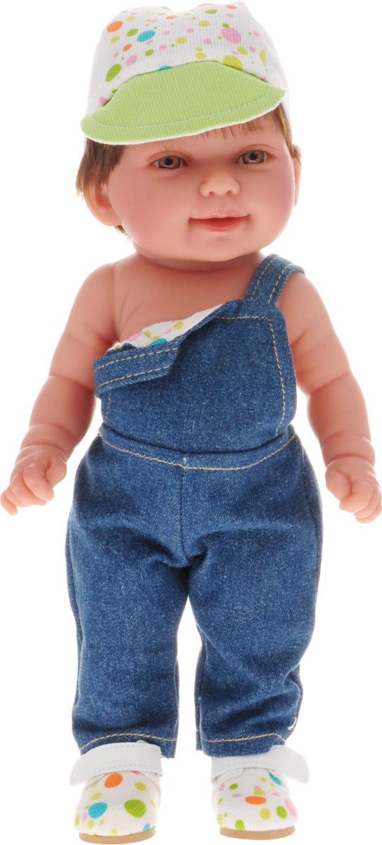 Vestida de Azul Пупс Мико в джинсовом комбинезоне куклы и одежда для кукол vestida de azul оливия в розовом костюме 30 см