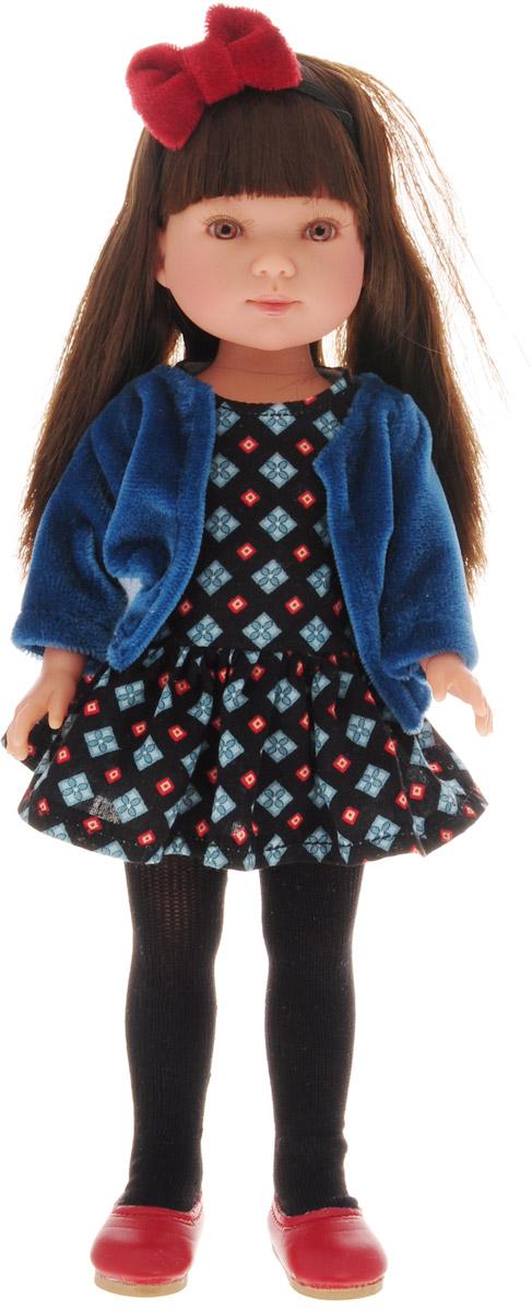 Vestida de Azul Кукла Карлотта Актриса брюнетка с челкой
