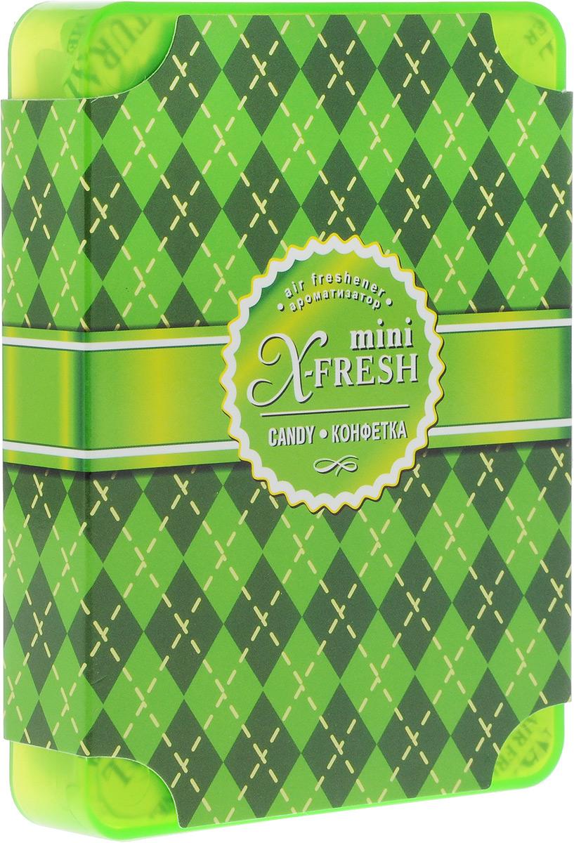 Ароматизатор под сиденье автомобиля Sapfire X-Fresh Mini, конфетка, 100 гSAT-2027Гелевый ароматизатор Sapfire X-Fresh Mini обладает чудесным ароматом и эффективно нейтрализуют все неприятные запахи, надолго сохраняет в воздухе ощущение свежести. Благодаря высококачественным компонентам и экономичному дизайну ароматизатор имеет широкий спектр применения: его можно установить в любом удобном для вас и незаметном месте - под сиденье автомобиля, платяном шкафу, под мебелью, в ванной комнате и туалете. Состав: ароматическая композиция, дезинфектант.