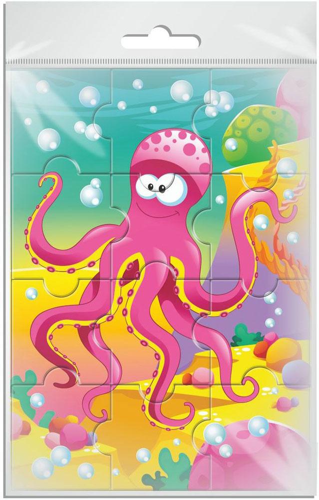 Издательская группа Квадра Пазл для малышей Осьминог издательская группа квадра пазл для малышей осьминог