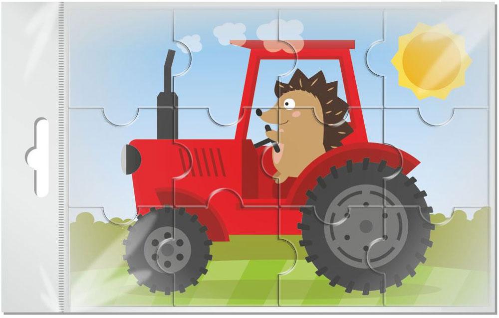 Издательская группа Квадра Пазл для малышей Трактор бомик пазл для малышей трактор