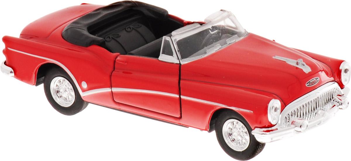 Welly Модель автомобиля Buick Skylark 1953 цвет красный welly модель автомобиля audi r8 v10 цвет красный