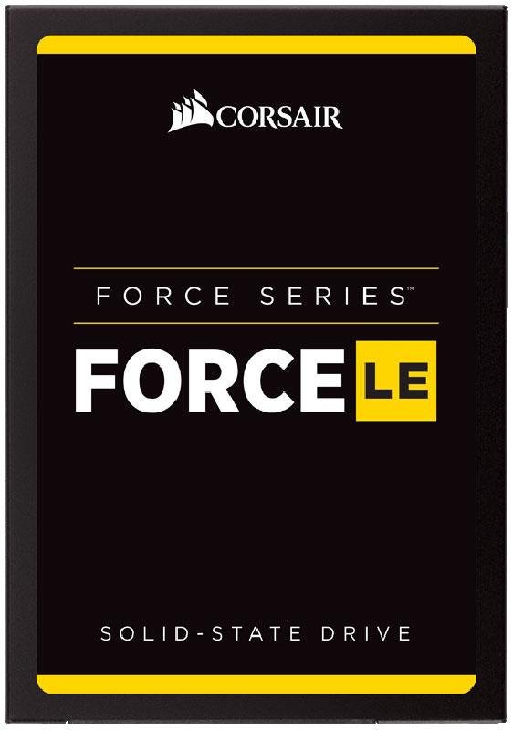 Corsair Force Series LE 480GB SSD-накопитель (CSSD-F480GBLEB)CSSD-F480GBLEBТвердотельные накопители семейства Force LE со встроенной новейшей технологией TLC NAND отличаются большой емкостью для хранения и более высокой скоростью работы по сравнению с жесткими дисками. Замена механического жесткого диска высокоскоростным твердотельным накопителем сегодня более доступна, чем когда-либо. Наслаждайтесь быстрым запуском и выключением системы, а также более высокой скоростью загрузки приложений. В зависимости от потребностей в отношении хранения данных можно выбрать модели различной емкости.Большая емкость накопителей Force Series LE удовлетворит ваши ежедневные потребности хранения данных, необходимых для работы, игр, творчества, видеофильмов, музыки, ведения документации и т. д.Функция интеллектуального нивелирования износа с быстрым и эффективным управлением данными обеспечивает более длительный срок эксплуатации диска, надежность и высокую скорость работы.Твердотельные накопители Force Series LE потребляют значительно меньше электроэнергии, чем обычные жесткие диски, повышают эффективность потребления энергии настольными ПК и увеличивают срок службы аккумуляторов переносных компьютеров.Защита ваших данных - это самое главное. Для надежного хранения данных и исправления ошибок в накопителях Force Series LE реализована технология SmartECC и SmartRefresh.Владельцам накопителей Force Series LE предоставляется доступ к набору программных средств для твердотельных накопителей Corsair, который является мощным инструментом, позволяющим использовать накопитель максимально эффективно.Ударостойкость: 500G