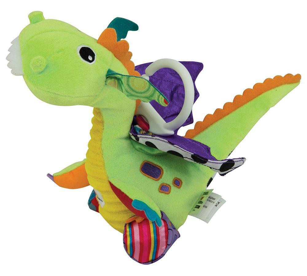 Lamaze Игрушка-подвеска Дракончик Флип Флап lamaze lamaze развивающая игрушка дракончик флип флап
