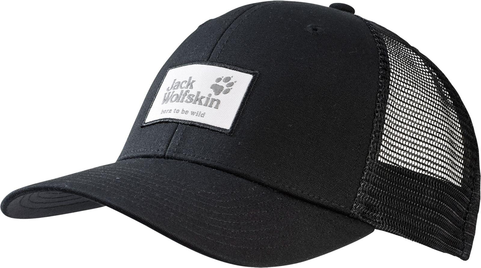 Бейсболка Jack Wolfskin Heritage Cap, цвет: черный. 1905621-6000. Размер 56/61 рюкзак jack wolfskin dayton цвет черный 2002481 6000
