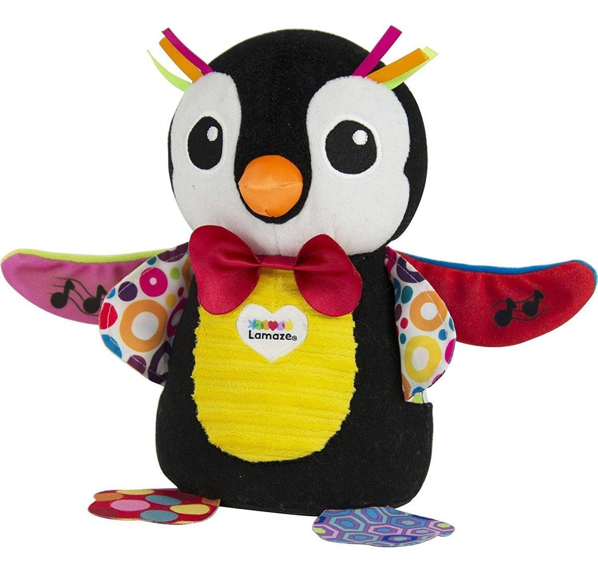 Lamaze Развивающая игрушка Пингвин Оскар музыкальная развивающая игрушка tomy lamaze музыкальный пингвин оскар l27245