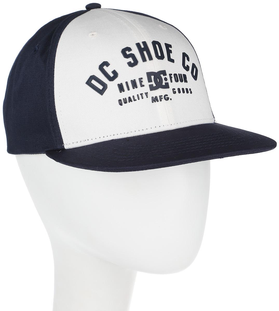 Бейсболка мужская DC Shoes Garver, цвет: белый, черный. ADYHA03426-WBB0. Размер универсальный tommee tippee утилизатор подгузников sangenic 1 шт