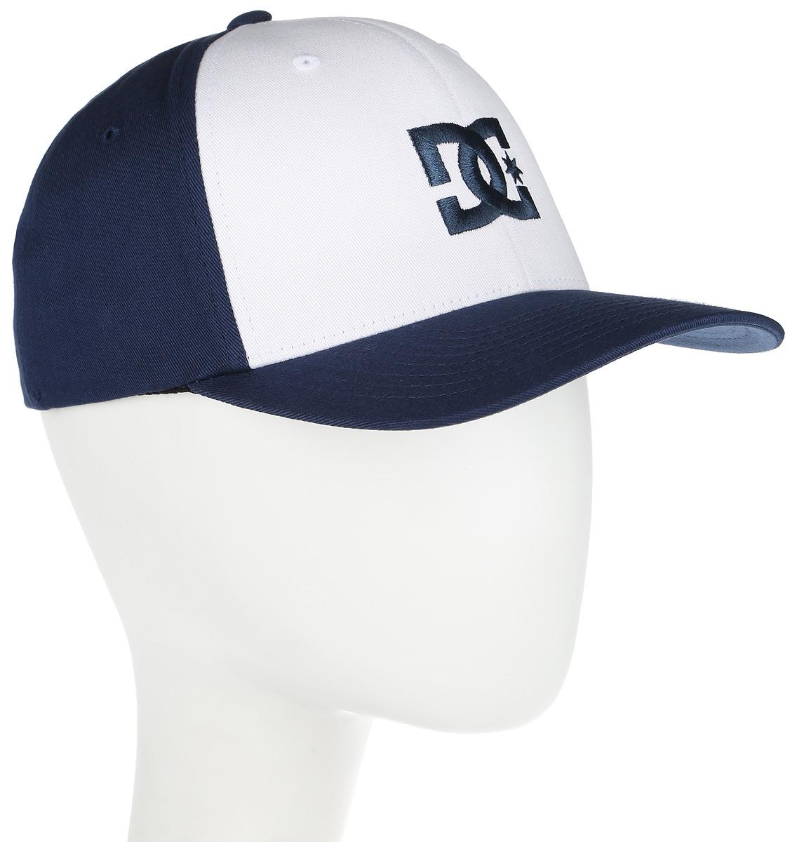 Бейсболка мужская DC Shoes Cap Star, цвет: синий, белый. 55300096-BYJ0. Размер S/M (54/56)