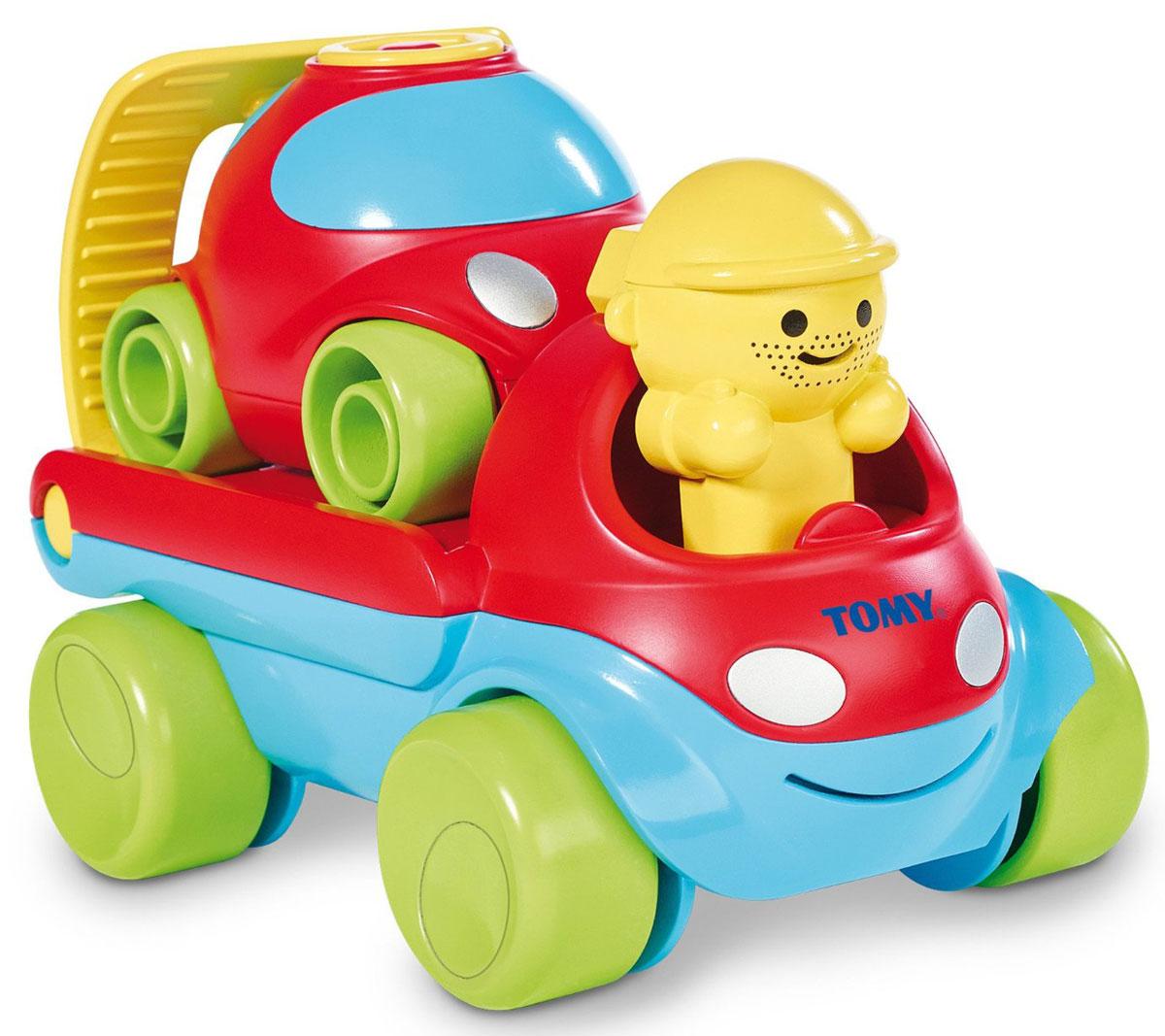 Tomy Развивающая игрушка Заводи и гоняй 3 в 1 tomy farm приключения трактора джонни и поросенка на ферме