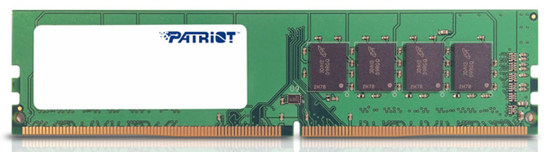 Patriot DDR4 8Gb 2133 МГц модуль оперативной памяти (PSD48G213382)PSD48G213382Небуферезированная память Patriot DDR4 PSD48G213382 предоставляет качество работы, надежность и производительность - основные требования для современных компьютеров. Объем модуля памяти в 8 ГБ позволит свободно работать со стандартными, офисными и профессиональными ресурсоемкими программами, а также современными требовательными играми. Работа осуществляется при тактовой частоте 2133 МГц и пропускной способности, достигающей до 17000 Мб/с, что гарантирует качественную синхронизацию и быструю передачу данных, а также возможность выполнения множества действий в единицу времени. Тайминг CL-15 гарантирует быструю работу системы. Модули памяти Patriot изготовлены из материалов высочайшего качества и протестированы вручную. Patriot заверяет, что каждый модуль памяти соответствует и превышает стандарты отрасли: апгрейд безо всяких замешательств.