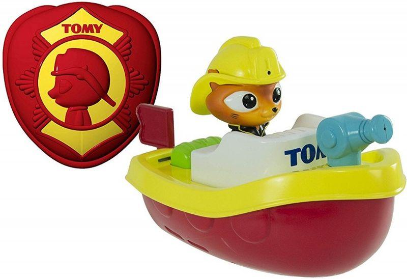 Tomy Игрушка для ванной Пожарный катер на радиоуправлении игровые наборы tomy britains big farm фермерский прицеп со свинками