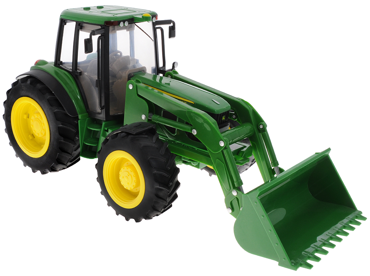 Tomy Трактор John Deere 6830 игрушка tomy john deere mega monster wheels т11312