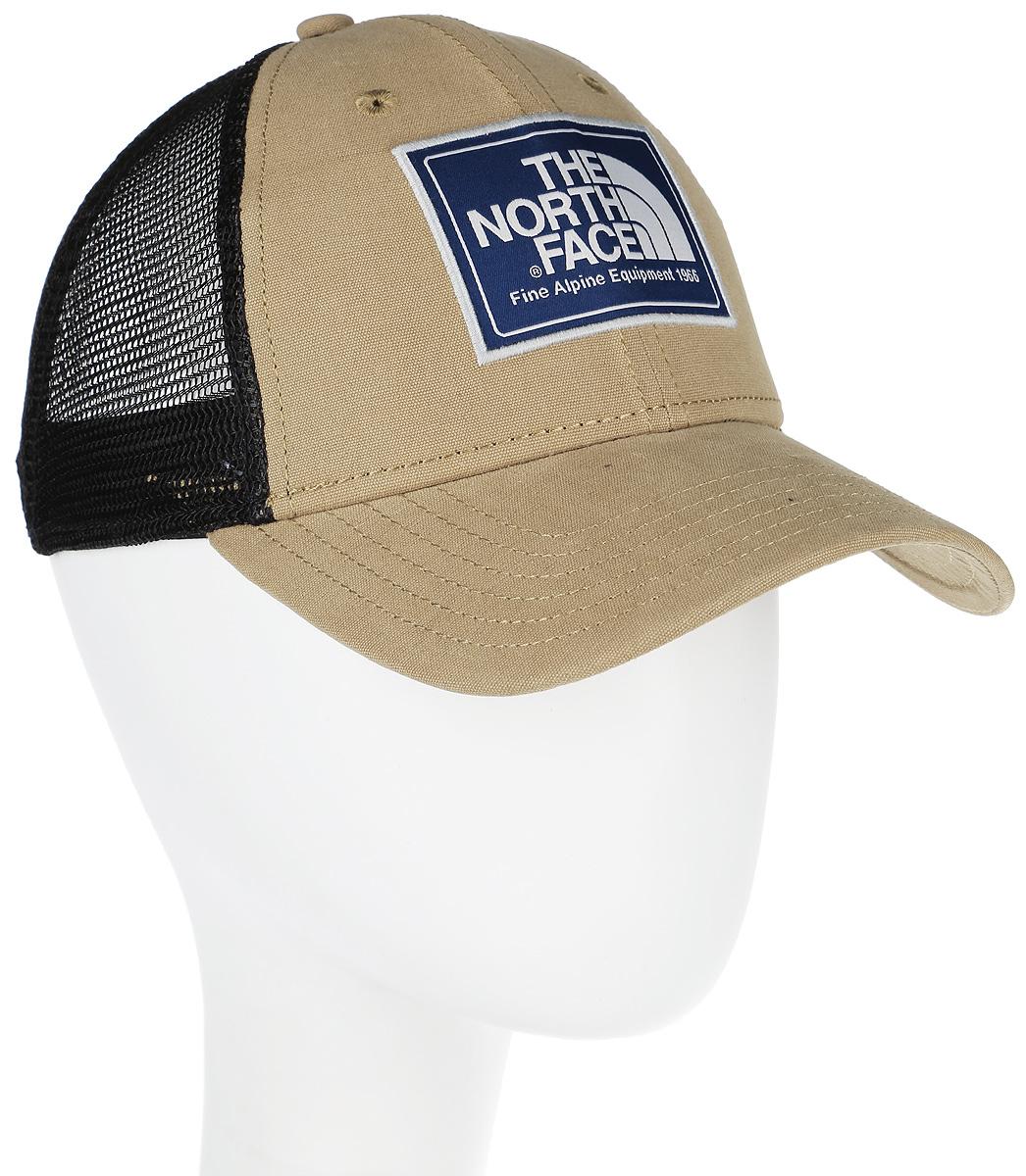 Бейсболка The North Face Mudder Trucker Hat, цвет: хаки, бежевый. T0CGW2SCG. Размер универсальный бейсболка the north face mudder trucker hat цвет хаки бежевый t0cgw2scg размер универсальный