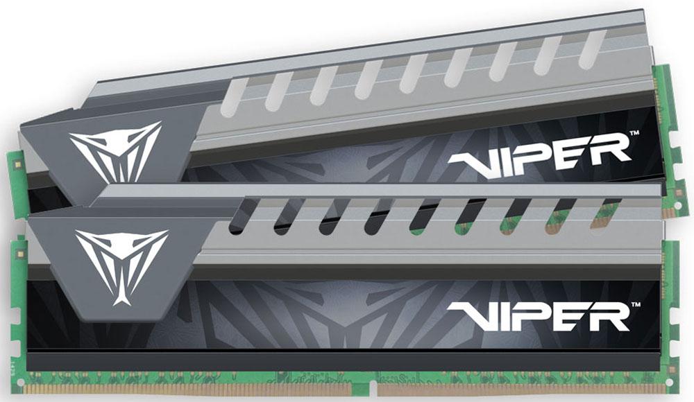 Patriot Viper Elite DDR4 2x8Gb 2133 МГц, Grey комплект модулей оперативной памяти (PVE416G213C4KGY)PVE416G213C4KGYМодули оперативной памяти Patriot Viper Elite DDR4 созданы для новейших платформ Intel. Обеспечивают наилучшую производительность и стабильность даже для самых требовательных компьютерных сред. Радиатор ускоряет рассеивание тепла, что обеспечивает высокую производительность модуля.Общий объем памяти в 16 ГБ позволит свободно работать со стандартными, офисными и профессиональными ресурсоемкими программами, а также современными требовательными играми. Работа осуществляется при тактовой частоте 2133 МГц и пропускной способности, достигающей до 17000 Мб/с, что гарантирует качественную синхронизацию и быструю передачу данных, а также возможность выполнения множества действий в единицу времени. Параметры тайминга 14-14-14-32 гарантируют быструю работу системы. Имеется поддержка XMP для удобного разгона в автоматическом режиме.Модули памяти Patriot изготовлены из материалов высочайшего качества и протестированы вручную. Patriot заверяет, что каждый модуль памяти соответствует и превышает стандарты отрасли: апгрейд безо всяких замешательств.Как собрать игровой компьютер. Статья OZON Гид