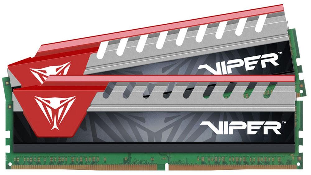 Patriot Viper Elite DDR4 2x8Gb 2800 МГц, Red комплект модулей оперативной памяти (PVE416G280C6KRD)