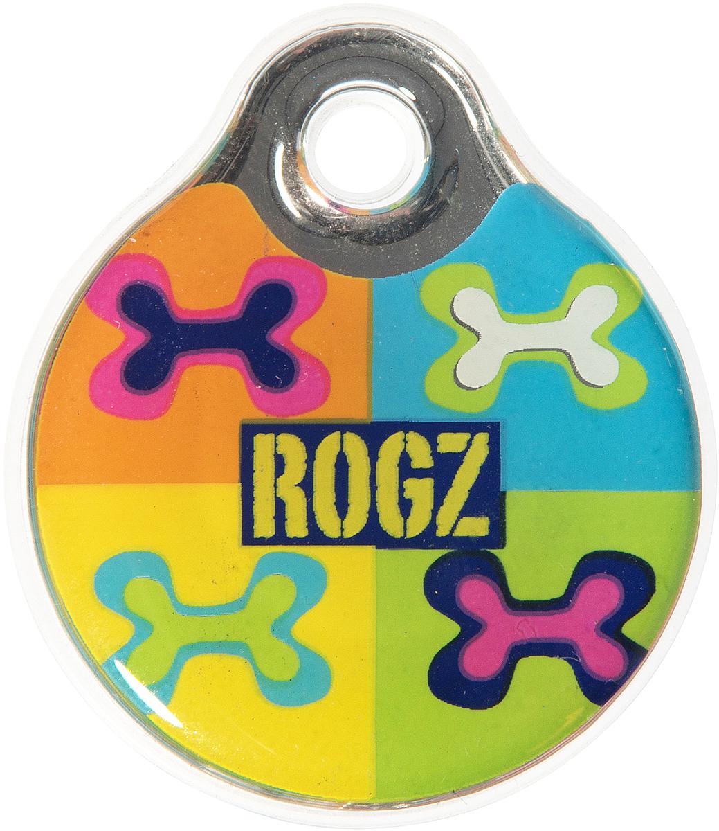 Адресник на ошейник Rogz Fancy Dress, диаметр 2,7 см. IDR27BWIDR27BWАдресник на ошейник Rogz Fancy Dress мгновенно готов к использованию.Не требует специальной гравировки. Вся информация может быть записана хозяином сразу после покупки.Защита от коррозии.Дизайн адресника создан таким образом, чтобы дополнить рисунок и расцветку аксессуаров коллекции Fancy Dress.Бесшумность. Не гремит при движении собаки.