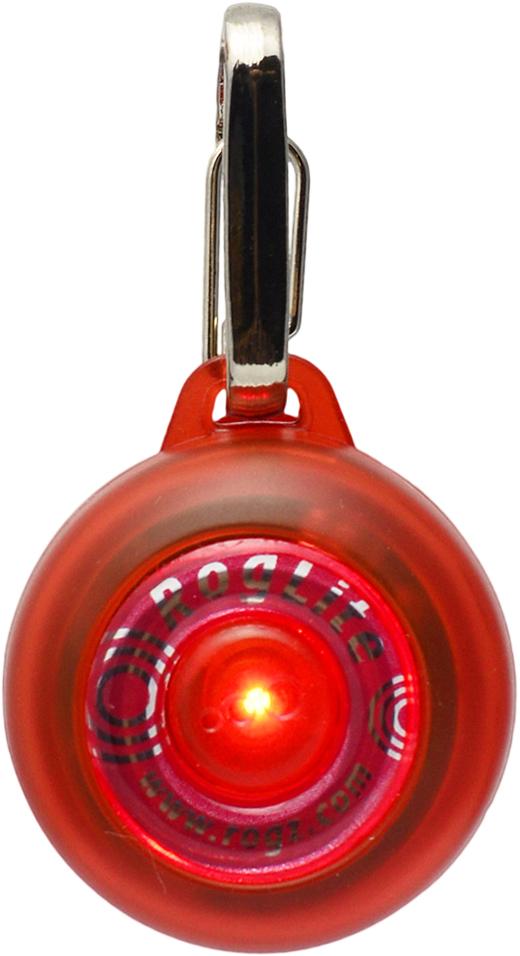 Брелок на ошейник Rogz RogLite, со светодиодной подсветкой, цвет: красный, диаметр 3,1 смIDL02CБрелок на ошейник Rogz RogLite обеспечит максимальную безопасность вашего питомца: кулон полезен для обнаружения собаки в темное время суток, в пасмурную погоду.Не боится воды и влаги.Различные световые режимы делают кулон особенно интересным.На кулоне есть два вида крепления - выбирайте, какой удобнее для вас.Прекрасно подойдет к любому ошейнику!
