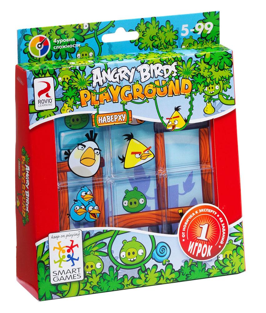 Bondibon Обучающая игра Angry Birds Playground Наверху bondibon обучающая игра замок загадок нескучный город