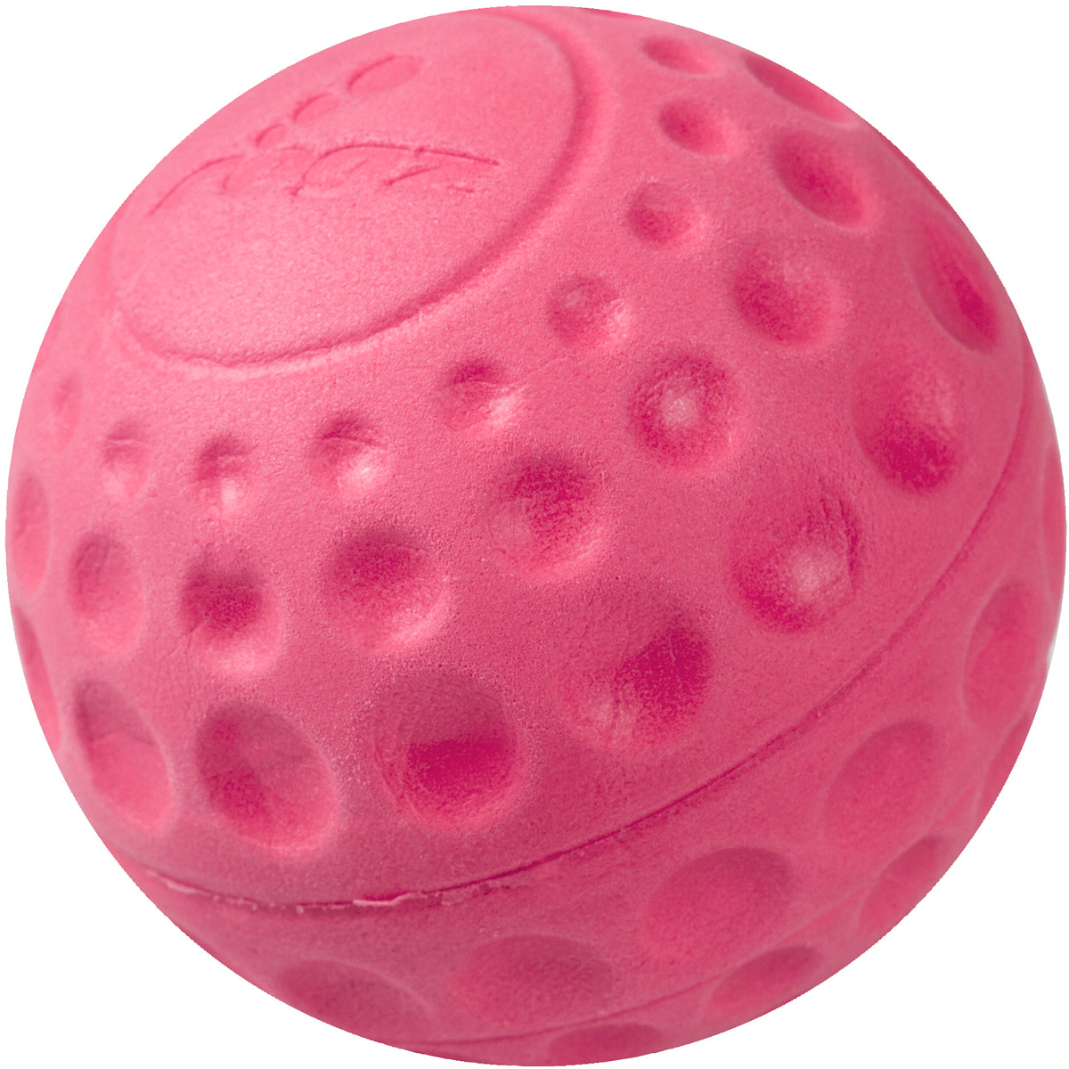 Игрушка для собак Rogz Asteroidz, цвет: розовый, диаметр 4,9 смAS01KМяч для собак Rogz Asteroidz предназначен для игры с хозяином Принеси.Мяч имеет небольшой вес, не травмирует десны, не повреждает зубы, удобно носить в пасти.Отличная упругость для подпрыгивания.Изготовлено из особого термоэластопласта Sebs, обеспечивающего великолепную плавучесть в воде, поэтому игрушка отлично подходит для игры в водоеме. Материал изделия: EVA (этиленвинилацетат) - легкий мелкопористый материал, похожий на застывшую пену.Не токсичен.