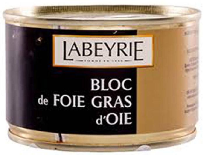 LaBeyrie Фуа-гра гусиная, 155 г52958Продукт, который состоит из перемолотой печени, но с добавлением кусочков цельной фуа-гра. Содержание цельной фуа-гра не менее 30%.