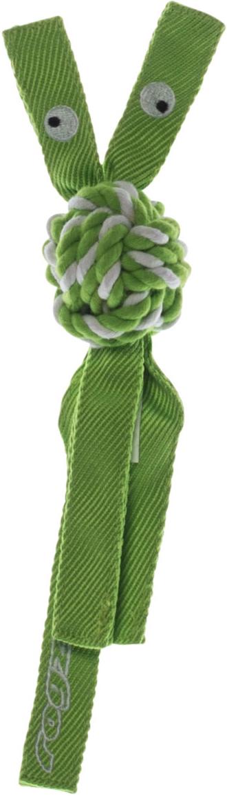 Игрушка для собак Rogz  CowBoyz , цвет: лайм, 4,9 х 25 см - Игрушки