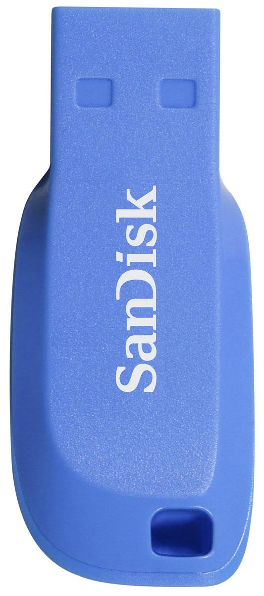 SanDisk Cruzer Blade 32GB, Blue USB-накопительSDCZ50C-032G-B35BEСтильные, компактные и емкие USB-флеш-накопители Cruzer Blade отлично подходят для резервного копирования, переноса информации и обмена файлами. Этот USB-накопитель позволяет держать фотографии, видеоролики, музыку и личные данные всегда под рукой.Перенести данные на USB-флеш-накопитель Cruzer Blade очень легко: просто подключите накопитель к USB-порту компьютера и перенесите файлы в нужную папку. После однократной быстрой установки драйверов вы сразу же сможете записать файлы на этот USB-накопитель, чтобы перенести их на другое устройство или передать другу.