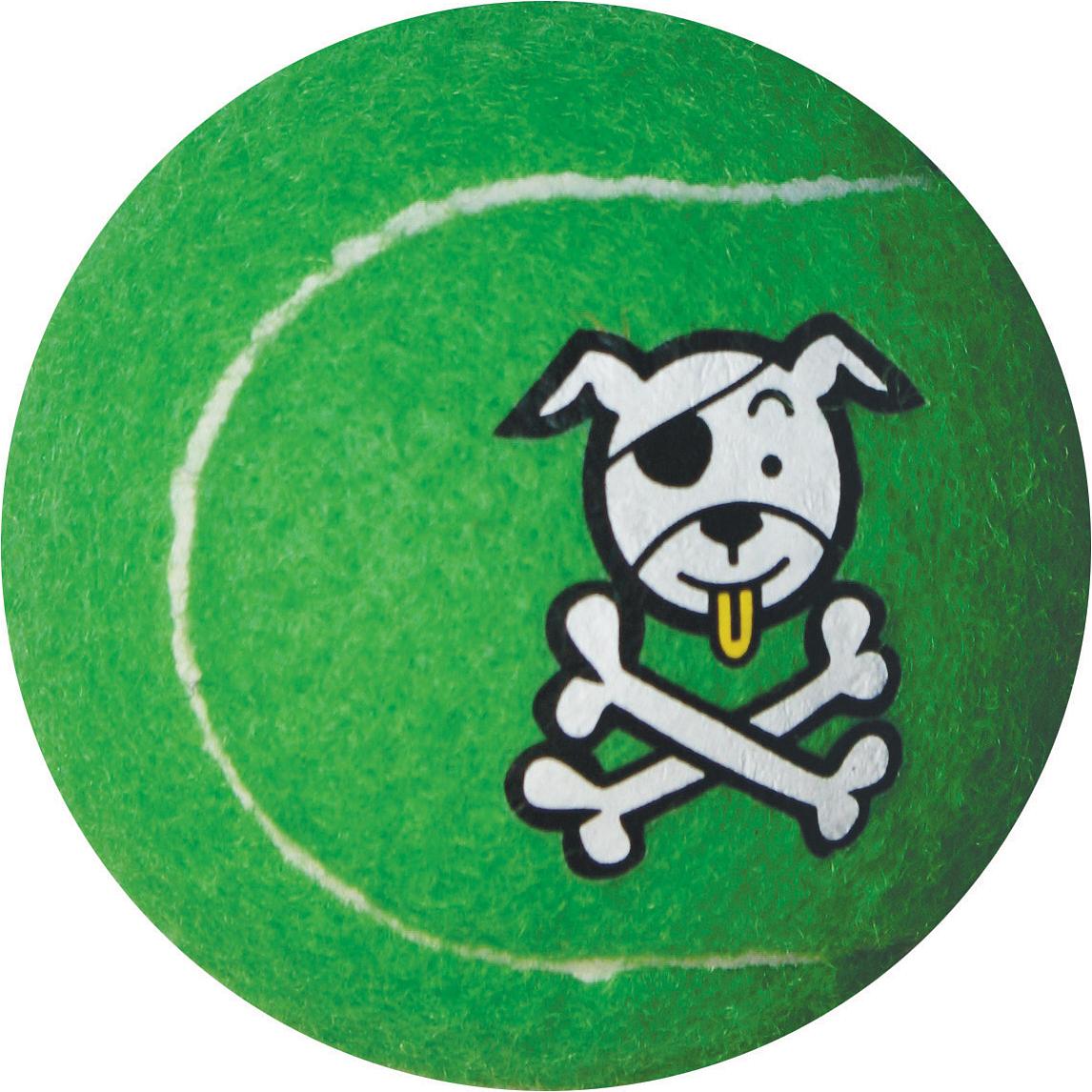 Игрушка для собак Rogz  Molecules , цвет: лайм, диаметр 8 см. MC03L