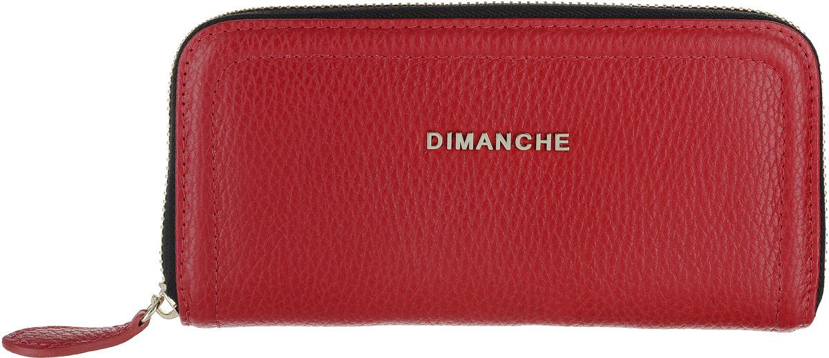 Портмоне женское Dimanche, цвет: черный. 675/1/G