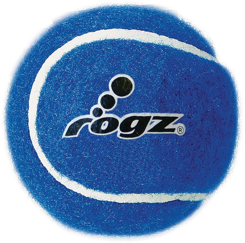 Игрушка для собак Rogz Molecules, цвет: синий, диаметр 5 см. MC01B игрушка для собак rogz yumz косточка с отверстием для лакомства цвет лайм длина 11 5 см