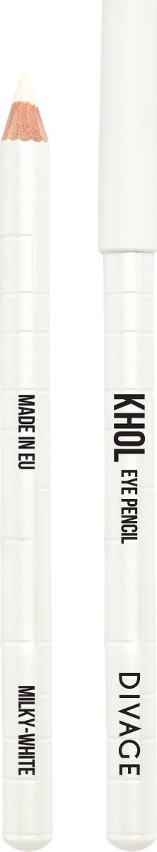 Divage Карандаш Для Глаз Каял, молочно-белый013711Нежный кремовый состав карандаша позволяет легко наносить контур на чувствительную слизистую глаза, аккуратно прокрашивая внутреннюю поверхность века. Благодаря деликатному нанесению KHOL не вызывает раздражения или покраснения слизистой, глазки не слезятся. Подводка, выполненная карандашом KHOL, держится около 6 часов, не тускнеет и не размазывается. Формула с натуральными смягчающими компонентами c оливковым маслом и маслом жожоба предотвращает появление морщин и питает кожу. Создавай новые нюансы во взгляде с карандашами KHOL от DIVAGE!
