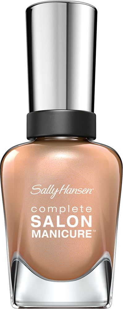 Sally Hansen Salon Manicure Keratin Лак для ногтей тон girl 216 14,7 мл30994236216Комплекс Complete Salon Manicure сочетает семь эффектов в одном флаконе, плюс кисточку для безукоризненного покрытия, легкого нанесения и салонных результатов. Эта формула всё-в-одном обеспечивает до 10 дней устойчивого к сколам покрытия и включает основу, средство для роста, вдохновленный подиумом цвет, топ, финишное покрытие с гелевым сиянием, устойчивость к сколам и укрепляющее средство с кератиновым комплексом, делающим ногти до 64% сильнее. Это всё, что вам нужно, чтобы достичь профессиональных результатов при окрашивании ногтей на дому!